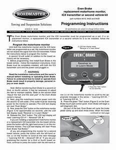 Programming Instructions Towing And Suspension Solutions
