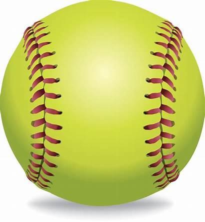 Clipart Softball Ball Base Baseball Transparent Bell