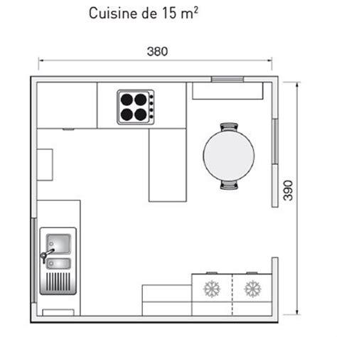 plan cuisine 9m2 plan de cuisine l 39 aménager de 1m2 à 32m2