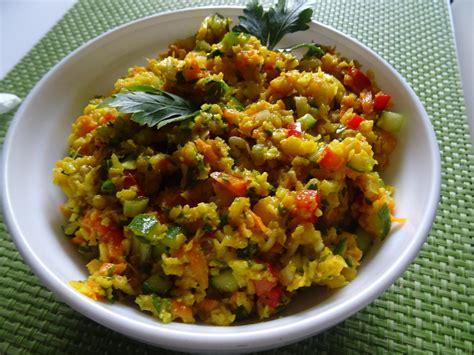 blumenkohl salat couscous style rezept kochbarde