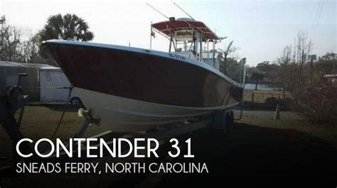 Contender Boats For Sale North Carolina by For Sale Used 2000 Contender 31 In Sneads Ferry North