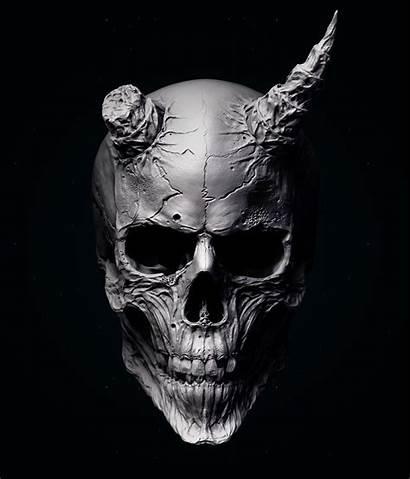 Oni Skull Mask Tattoo Samurai Calaveras Wallpapers