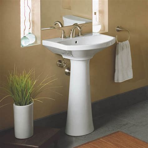 Kohler Cimarron Pedestal Sink by Kohler K 2362 8 Cimarron Pedestal Bathroom Sink With 8