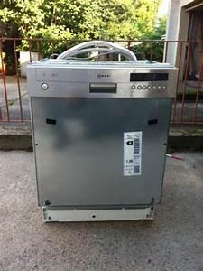 Neff spulmaschine einbau voll funktionsfahig in edingen for Spülmaschine einbau
