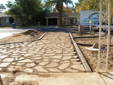 how to reuse and lay broken concrete pieces how to build
