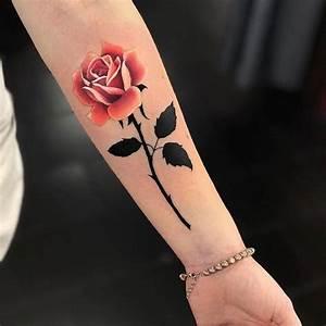 Rosen Tattoo Klein : kleine tattoos rosen ~ Frokenaadalensverden.com Haus und Dekorationen