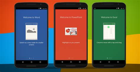 microsoft apps for android microsoft updates office apps for android with new