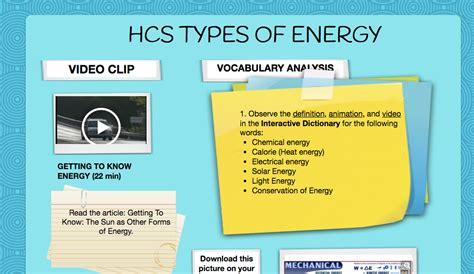 6 p 3a 1 forms of energy south carolina 6th grade science