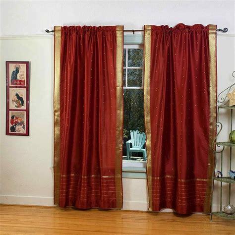 rod pocket sari curtains sari panels sari drapes
