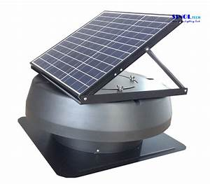 China Adjustable Pv Solar 30w Solar Power Exhaust Vent For