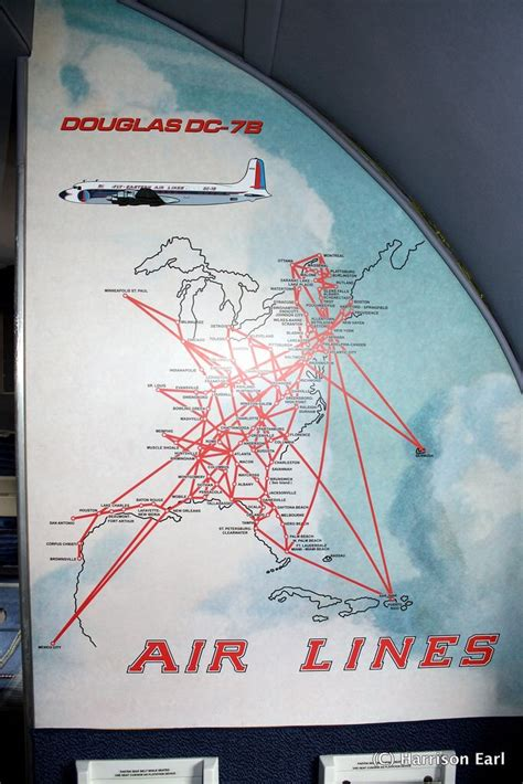 Eastern Airlines Route Map