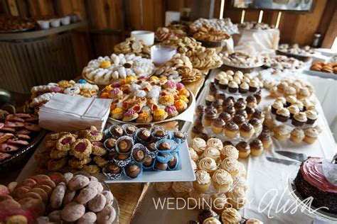 history  wedding cookie tables