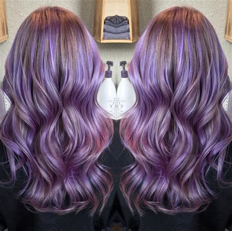 Gorgeous Pastel Purple Hairstyles For Short Long