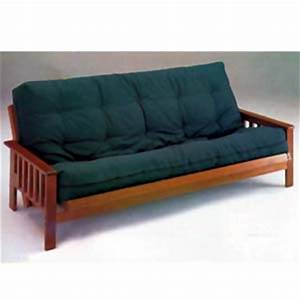 futons oak finish mission style futon bed 2442 a With mission style sofa bed