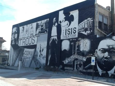 mural  troost avenue presents images  kansas city
