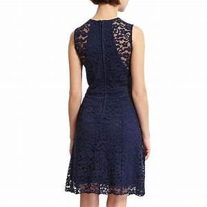 robe bleu dentelle morgan les tendances de la mode With robe morgan dentelle