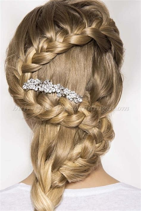 braided wedding hairstyles, bridal hairstyles with plaits