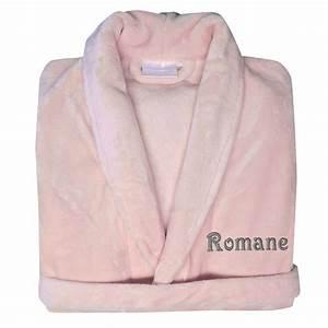 robe de chambre polaire brodee une idee de cadeau With robe de chambre personnalisée homme