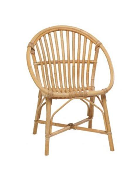 siege en rotin fauteuil en rotin naturel coquille vintage bruno rotin