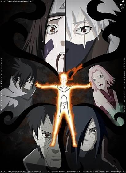 Sasuke Naruto Sakura Kakashi Obito Madara Rin