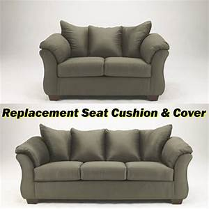 ashleyr darcy replacement cushion and cover 7500338 or With ashley furniture cushion cover replacement