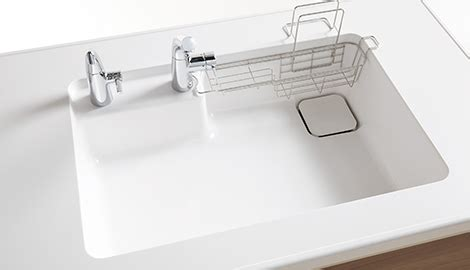 toto kitchen sink シンク カラー キッチンパーツ mitte ミッテ システムキッチン 商品情報 toto 2876