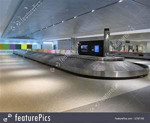 Airport Terminal: Baggage Claim Carousel At Airport ...