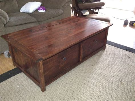 See more ideas about coffee table trunk, chest coffee table, coffee table. 20 sec tidy up coffee table with trundle toy box/storage ...