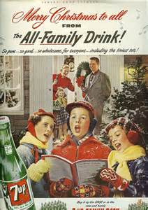 Vintage 7Up Christmas Ads