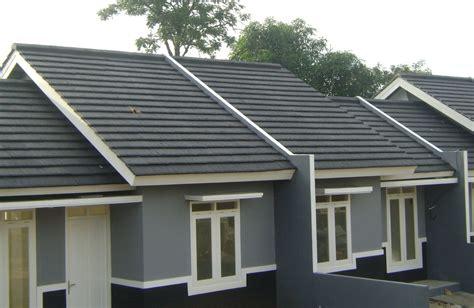 rumah minimalis atap miring sebelah