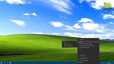 bureau windows xp windows 10 envie d un look à la windows xp c est