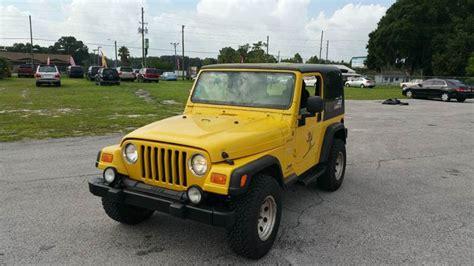 jeep wrangler unlimited wd dr suv  zephyrhills fl