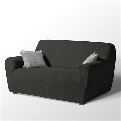 housse de canapé avec accoudoir en bois housse de canape extensible 3 places avec accoudoir