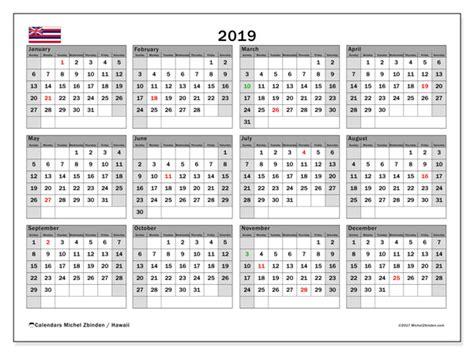 calendar hawaiiusa michel zbinden en