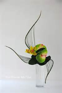 orchid flower arrangements 1000 images about ikebana on floral