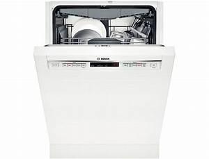 Bosch 24 U0026quot  Recessed Handle Dishwasher 300 Series