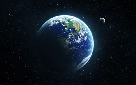Earth, Space, Moon Wallpapers Hd / Desktop And Mobile