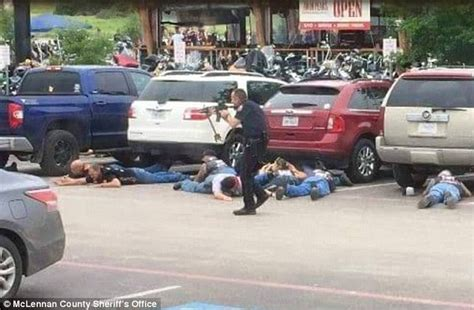Waco Shooting Witnesses Say Police's Semi-automatic Did