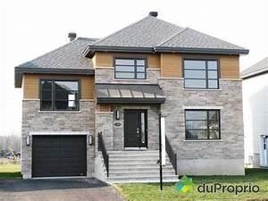 Maison neuve a vendre blainville 11060 rue de for Modele de maison a construire