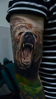 Bear Tattoo Designs for Men