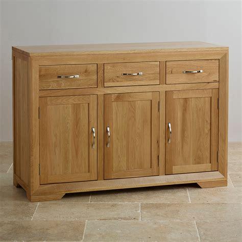 Oak Sideboard Furniture by Bevel Solid Oak Large Sideboard Oak Furniture Land