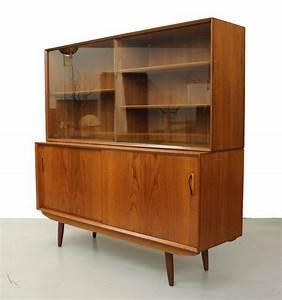 Mid Century Möbel : mid century danish teak 2 piece credenza by ~ A.2002-acura-tl-radio.info Haus und Dekorationen