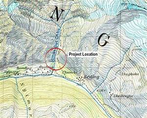 Figure 1 1c  Topographic Map Of Rolwaling Valley Showing Project Location