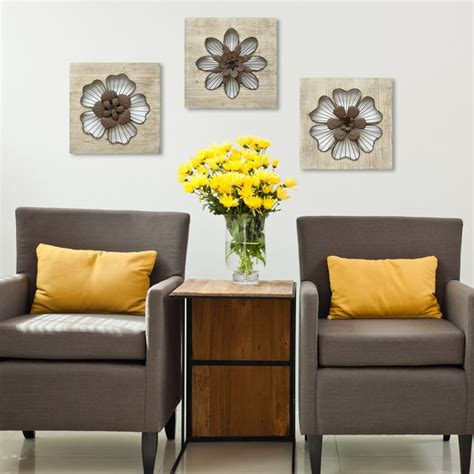 Stratton home decor items at qvc.com. Shop Stratton Home Decor Rustic Flower Wall Decor - Free Shipping On Orders Over $45 - Overstock ...