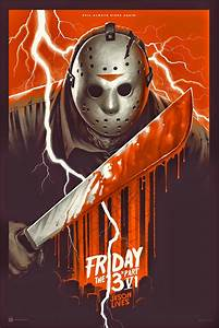 Mondo To Offer New Poster Print For 'Jason Lives: Friday ...