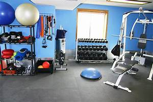 Image Gallery home weight room