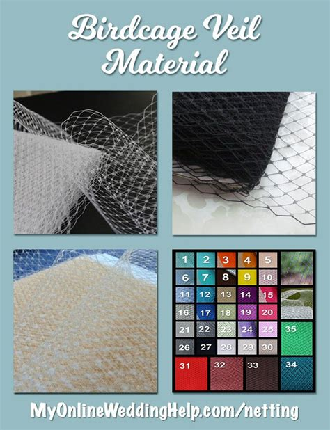 Birdcage Veil Material (Page 1 of 1) Wedding Products