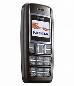 New Nokia 1600   32 Mb   256 Mb   Black Mobile Phones