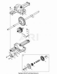 Troy Bilt 13wn77ks011 Pony  2012  Parts Diagram For