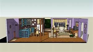Chandler Bing And Monica Geller's Apartment ( FRIENDS ...